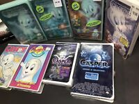 7 Casper Children's VHS Lot Casper the Friendly Ghost Sealed