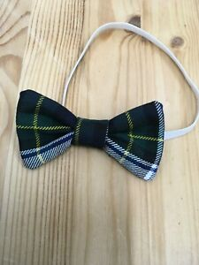 Gordon Dress Tartan Baby Boys Bow Tie