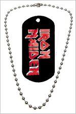 Iron Maiden - Colgante, Dog Tag, Placa militar