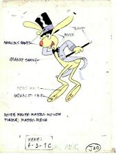 Easter Fever Production Animation JACK RABBIT Hand Painted Model Cel CBC 1980
