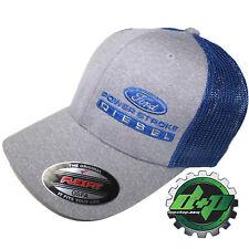 Ford Powerstroke hat ball cap fitted flex fit flexfit stretch diesel OSFA BLUE