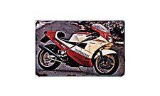 Ducati 851 Superbike Kit Motorbike Sign Metal Retro Aged Aluminium Bike
