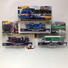 Complete Set of 3 * 2020 Hot Wheels Team Transport Case G w/ RWB Superbird