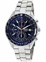SEIKO SND255P1 SND255PC Flightmaster Pilot Chronograph Men's Watch