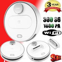 360 S6 Smart Saugroboter Staubsauger Vakuum Robot | Haushaltsgeräte 1800pa 0.4L