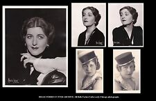 BELLE FORBES CUTTER opera soprano 35 photo archive including pupil signed photos