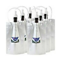 H2-BAG Hydrogen Water Vacuum Storage Containers 6 Pcs Set Japan with Tracking