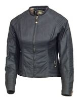 ROLAND SANDS DESIGNS Jett Textile Motorcycle Jacket Black Women's