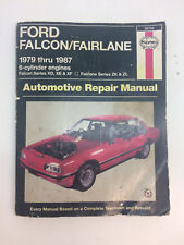 Haynes manual 36730 Owner's Repair Manual Ford Falcon, & Fairlane 1979-1987