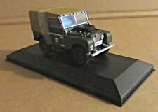 CORGI VANGUARDS LAND ROVER SERIES 1 1:43 SCALE LINCOLN CORPORATION TRANSPORT DPT