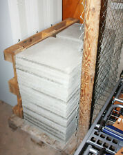65x Gehwegplatten Terrassenplatten Platten Beton grau 50x50x4cm - kein Versand