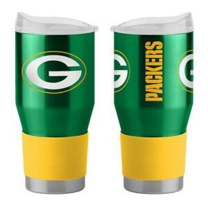 Green Bay Packers 24oz Twist Ultra Travel Tumbler [NEW] NFL Cup Mug Coffee
