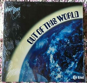 THE MOODY BLUES VINYL out of this world LP SEALED K-TEL Hits COMP 1979 scarce