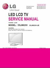 LG 55LM6200 UE 3D LED TV Service Manual and Repair Guide