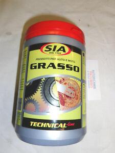 Grasso al litio rosso per cuscinetti marca SIA 6004 1lt