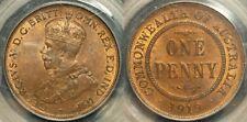 Australia 1919 Melbourne Penny PCGS MS64RB lot 0292