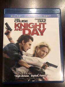 Knight and Day (Blu-ray/DVD, 2010, 3-Disc Set, No Digital Copy)
