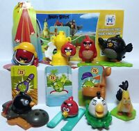 New Kinder Surprise Series, Fererro, 2016 (Angry Birds) FS350-FS352 + 1  BPZ