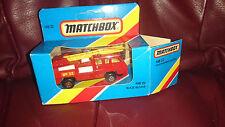 Matchbox MB 22 Feuerwehr Fahrzeug No 32 Fire Engine