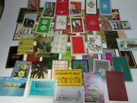 Vintage Playing Cards 52 DIFFERENT Card Swap 29948 Complete Deck Junk Journal
