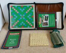 Travel Scrabble Complete with All 100 Peg Tiles