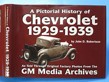 Pictorial History of Chevrolet, 1940-1954 by John D. Robertson 1998 1st.ed.