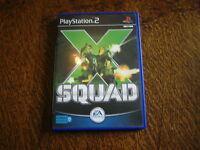 jeu playstation 2 x squad