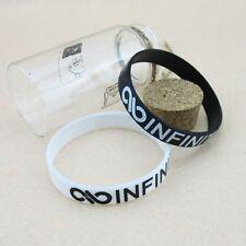 INFINITE KPOP Support wristband X2 White & Black NEW