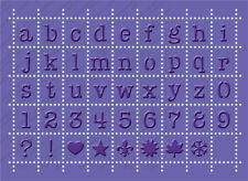 Cuttlebug Embossing Plus *Perforated Postage Alphabet*  2000248