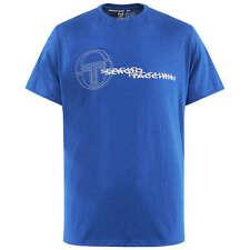 Hombre SERGIO TACCHINI Azul Real Camiseta Talla Pequeña BNWT