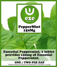 Peppermint Oil Tablets./capsules. 150 MG Indegestion Wind IBS Buy 2 Get 1
