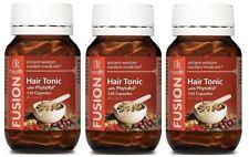 3x FUSION HEALTH HAIR TONIC 120C - WANT HEALTHY HAIR? + FREE SHIPPING