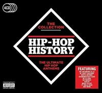 Hip-Hop History: The Collection- 2017 - Various Artists (NEW 4CD)