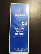 Weleda Moisture Cream for Men  30ml. Bnib.  Free post hi