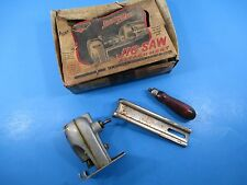 Vintage Miller Falls Tools Dyno Mite # No. 2140 Jig Saw Attachment W/Box VS8