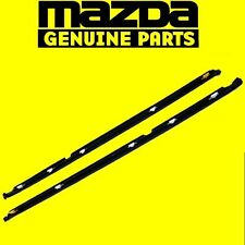 Genuine Mazda RX-7 FC3S Coupe Window Door Weather Seal Strip Left Right Set OEM