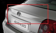 TOYOTA AVENSIS SALOON / SEDAN 2003-2009 REAR BOOT TRUNK SPOILER NEW