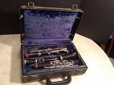 Vintage Wood Cabart Clarinet Paris with Case - Estate Find!!