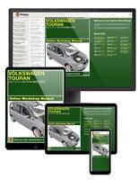 Volkswagen Touran Diesel (2003-2015) 03 to 65 Haynes Online Manual