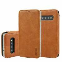 For SAMSUNG Galaxy S10 S10+ / Lite  Luxury Leather Wallet Flip Case + Card Slot