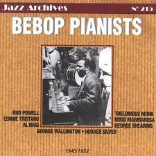 CD NEUF scellé - BEBOP PIANISTS 1946/1952 -C40