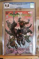 DC/IDW Batman Teenage Mutant Ninja Turtles III #1 CGC 9.8 Crossover