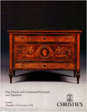 Catalogue Christie's French Furniture Mobilier Meuble Français du XVIIIe siecle
