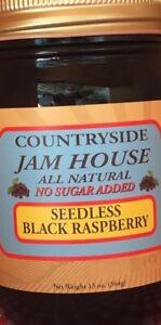 Seedless Black Raspberry No Sugar added