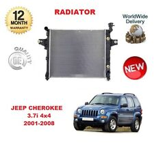FOR JEEP CHEROKEE 3.7 4x4 2001-2008 NEW RADIATOR UNIT