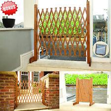 Freestanding Stair Pet Barrier Tall Dog Gate Expanding Fence Outdoor Indoor Door