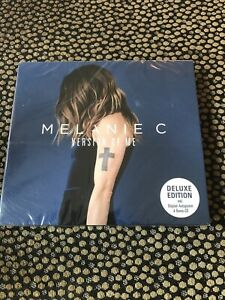 MELANIE C - VERSION OF ME SIGNED DELUXE LIMITED EDITION 2 CD - spice girls - NEW