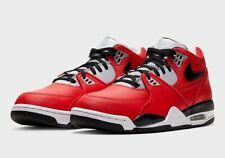 Nike Air Flight 89 Retro University Red Wolf Grey Cement CN5668 600 Size 10.5