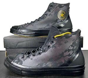 Converse Chuck Taylor 70's Hi Sneaker Neoprene Scuba Wet Suit BLACK 12 Men RARE!