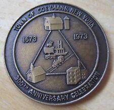 Town of Coeymans, New York 300th (1673-1973) Anniversary Celebration MEDAL